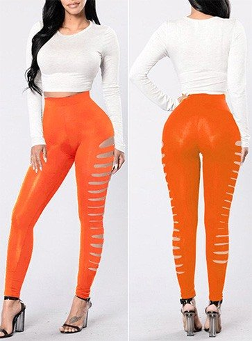 Womens Cutout Leggings