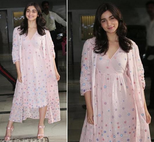 Alia Bhatt in Nakita Singh outfit