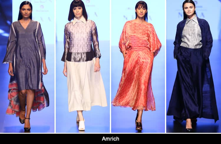 Amrich at Lakmé Fashion Week summer resort 2018