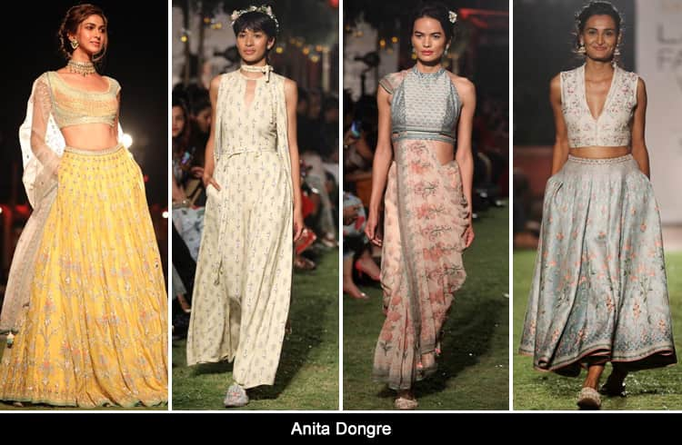 Anita Dongre at Lakmé Fashion Week summer resort 2018