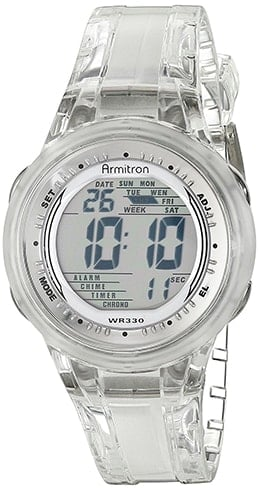 Armitron Sports Women Digital Jelly Strap Watch