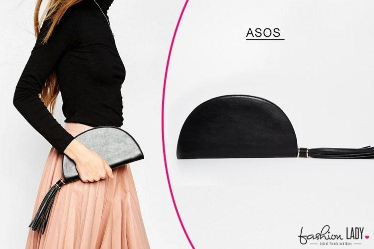 ASOS Half Circle Clutch Bag