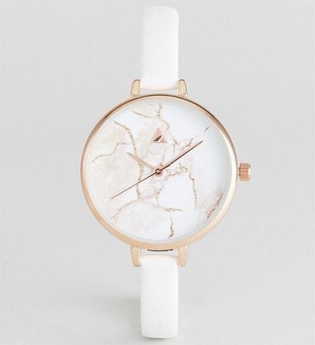 ASOS Skinny Marble Watch