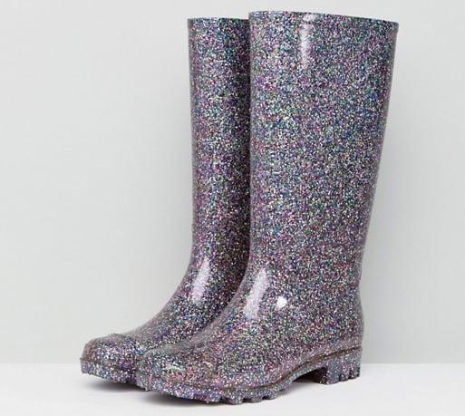Asos Sparkly Glitter Wellies