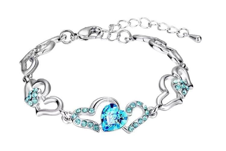 Blue Metal Bracelet
