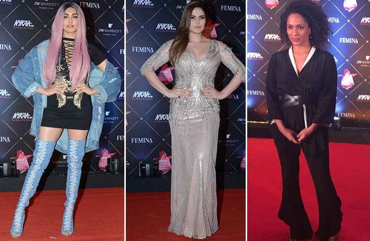 Bollywood At Nykaa Femina Beauty Awards 2018