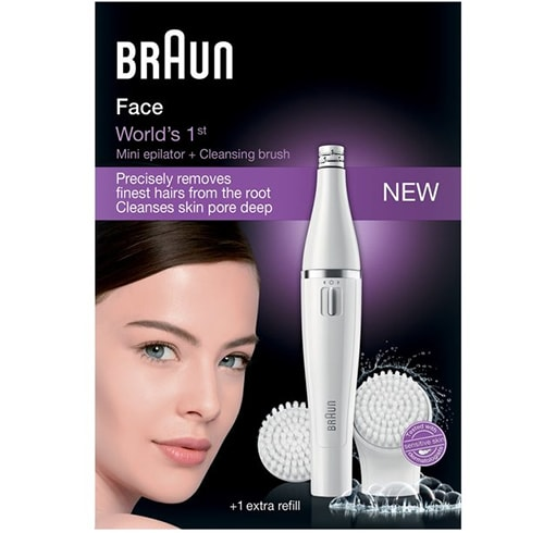 Braun Face 820 Epilator