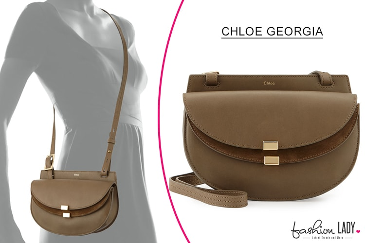 Chloe Georgia Mini Leather Crossbody Bag