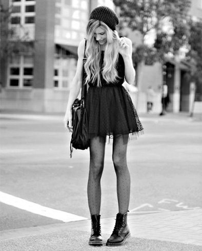 combat boots outfit ideas