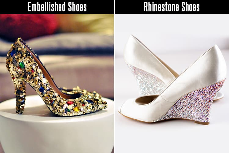 DIY Embellished Shoes