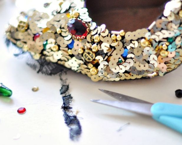 How to Make Embellishing Shoes at Home
