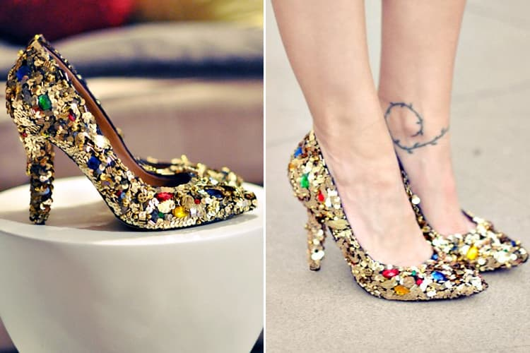 How To Embellish Shoes