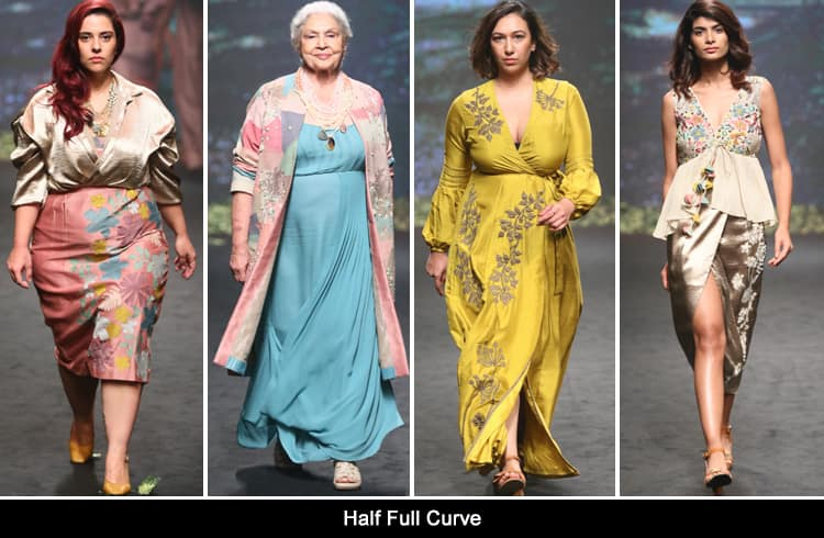 Half Full Curve at LFW summer resort 2018