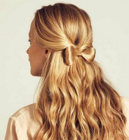 Half-up Hair Bow