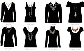 Choosing Necklaces For Neckline