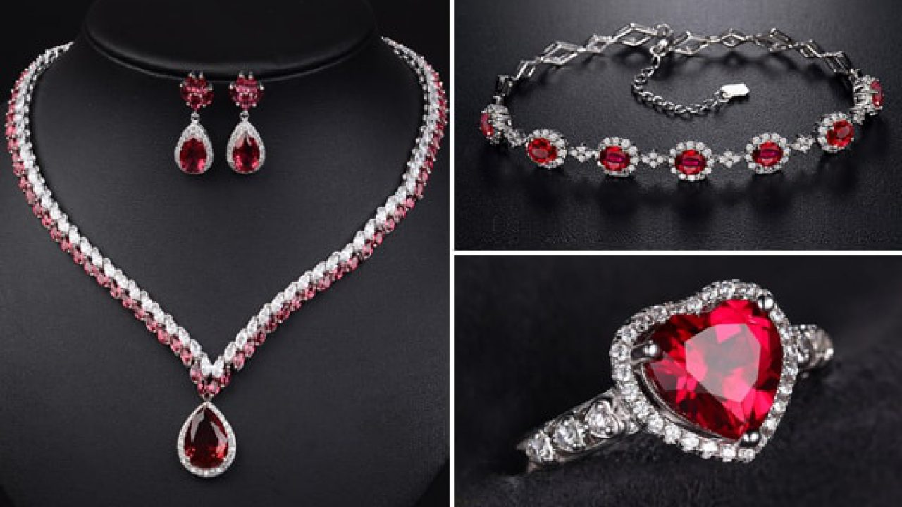 bf09e70907d15 Ravishing Ruby Gemstone - Fashion Guide On How To Style Ruby Jewelry