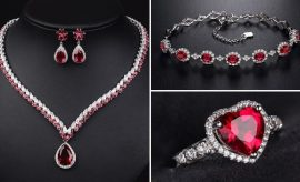 How To Style Ruby Jewelry