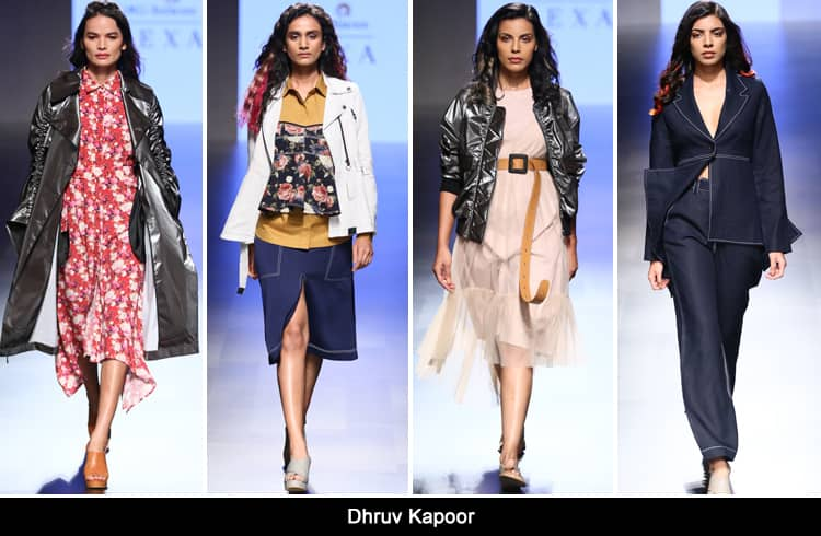Dhruv Kapoor at LFW summer resort 2018