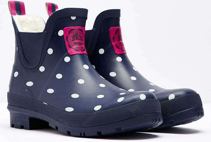 Joules Wellibob Ankle High Wellington Boots