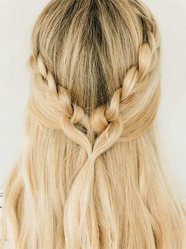 Looped Love Braids