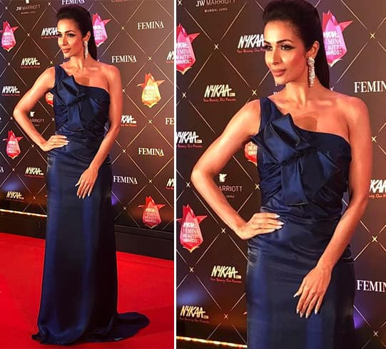 Malaika Arora At Nykaa Femina Beauty Awards 2018