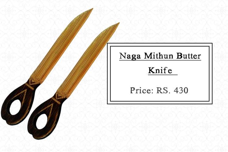 Naga Mithun Butter Knife