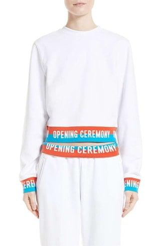 Opening Ceremony Logo Sweatshirt And Sweatpants