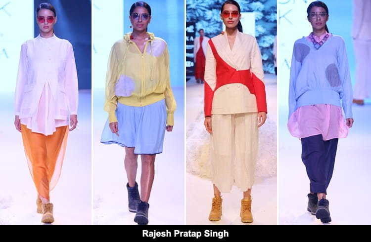 Rajesh Pratap Singh at Lakme Fashion Week 2018