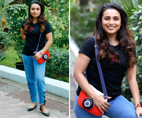 Rani Mukherjee in Denim