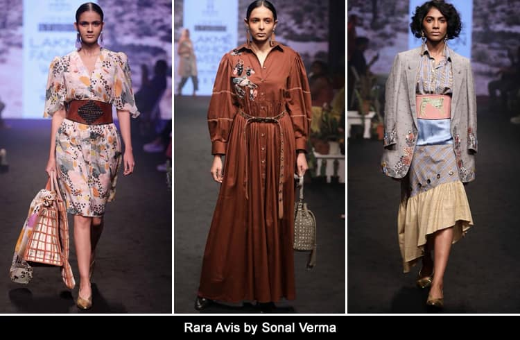 Rara Avis by Sonal Verma at LFW 2018 Day 1