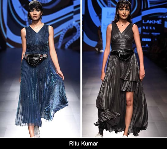 Ritu Kumar at Lakmé Fashion Week summer resort 2018