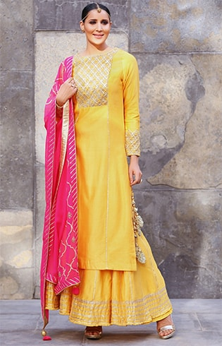 Salwar Suits for Haldi Ceremony