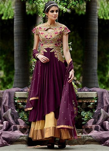 Salwar Suits for Reception Ceremony