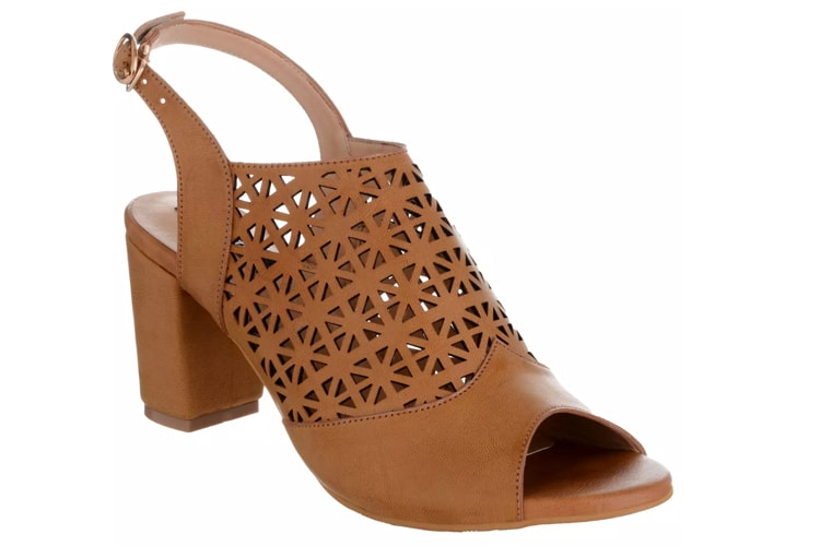 Sherrif Shoes Block Heel Sandals