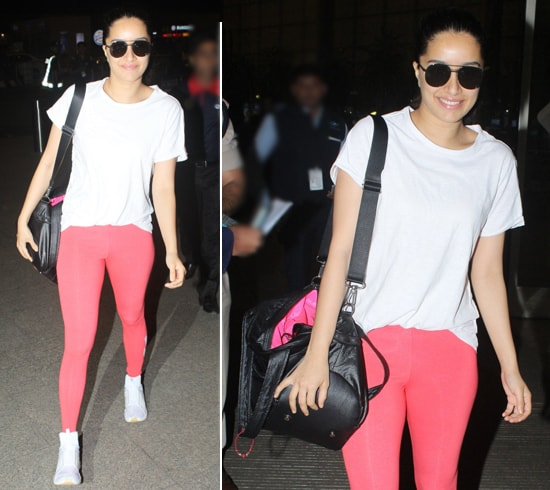 Shraddha Kapoor Airport Style