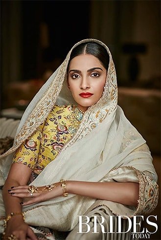 Sonam Kapoor on Brides Today India