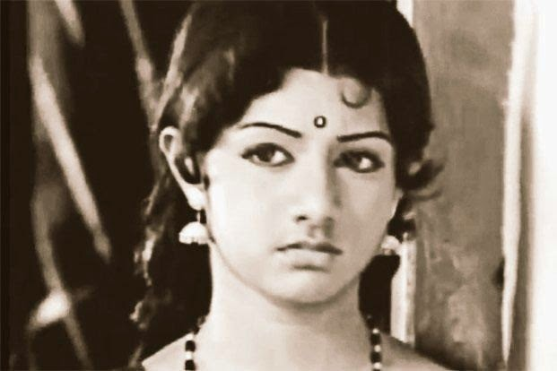 Sridevi First Movie