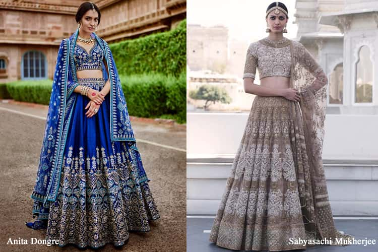 Types Of Lehenga Choli Designs For 2018