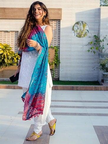 Ethnic clothing for Holi