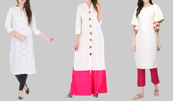 White Kurtas to Brighten Up The Festival of Colors