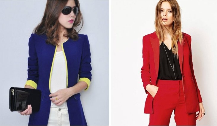 Women's casual blazers