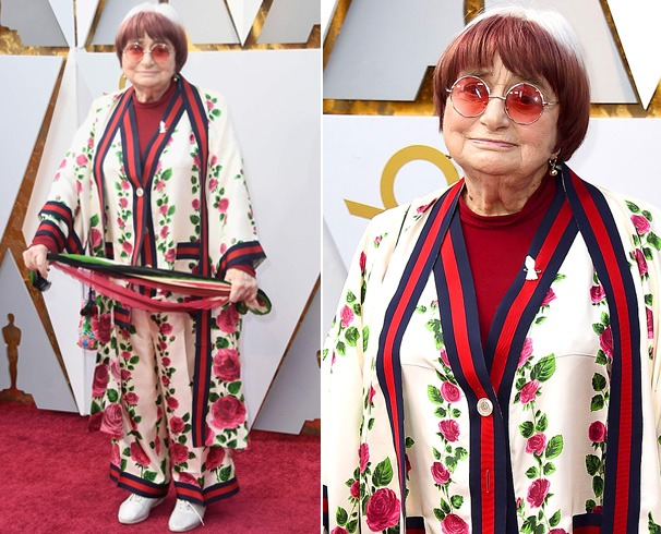 Agnes Varda Dress at Oscars
