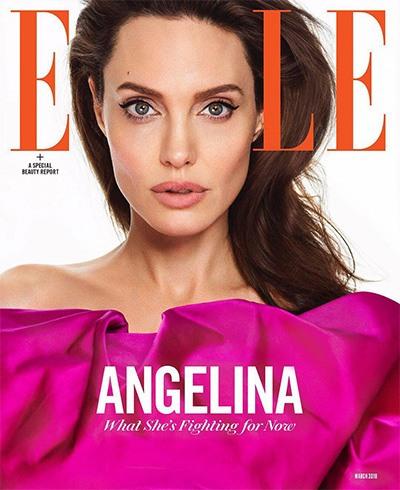 Angelina Jolie for Elle US