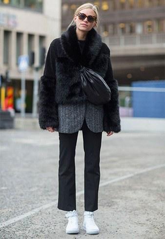 Best Ways To Wear a CroppedFauxFur Coat