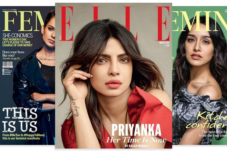 Bollywood Magzine Covers March 2018