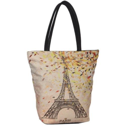 Cream Fabric Handbag