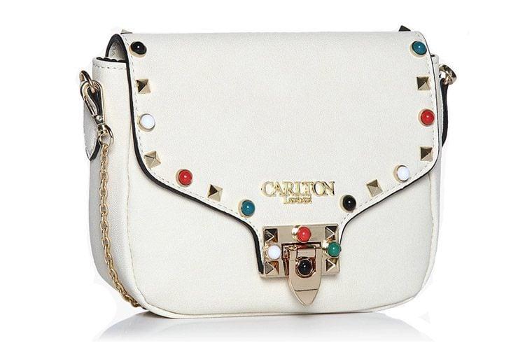 Cream Sling Bag