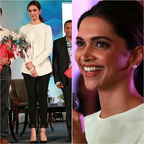 Deepika Padukone at Live Love Laugh Foundation