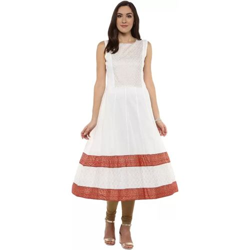 Embellished Womens Anarkali Kurta