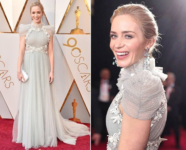 Emily Blunt Dress at Oscars